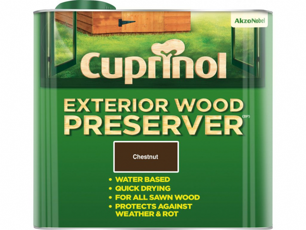 Cuprinol Exterior Wood Preserver (BP)  2.5L
